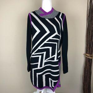 TITLE NINE | Fine Merino Wool Blend Dress Sweater
